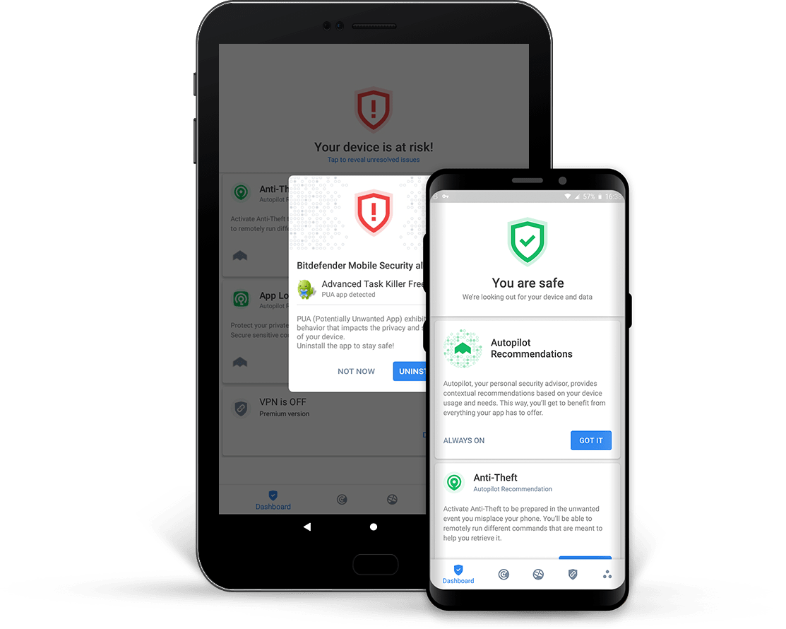 Read more -  Bitdefender Mobile Security for Android