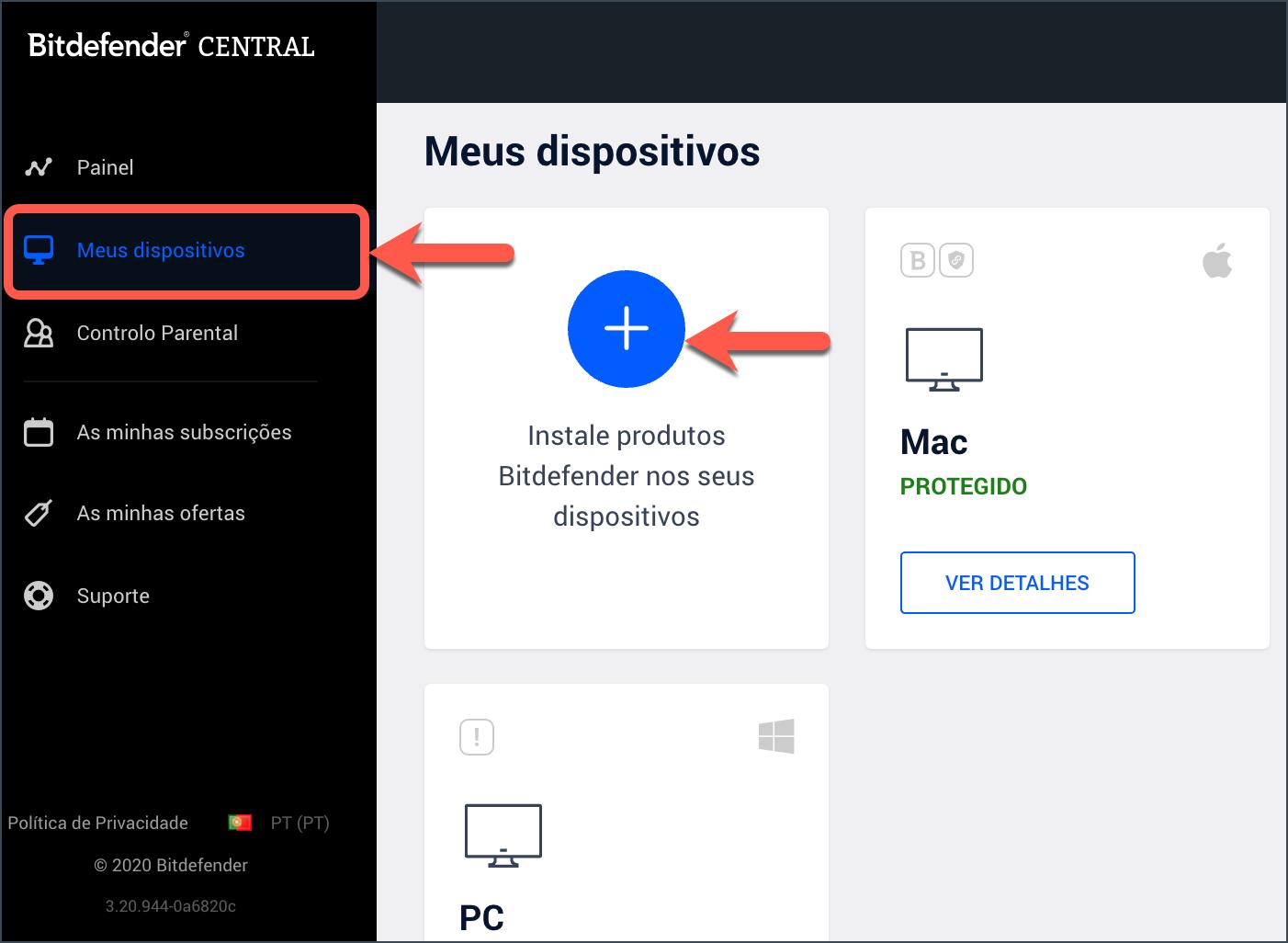 Como instalar o Bitdefender Antivirus for Mac